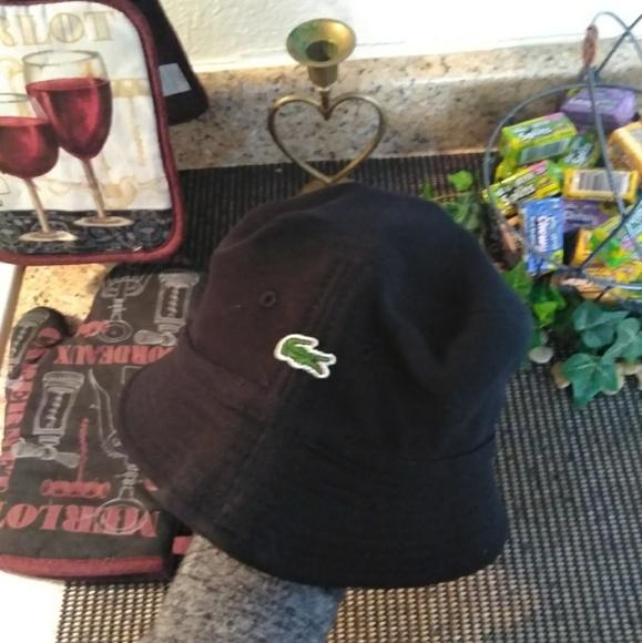 0126ea3a3986b2 Lacoste Accessories | Piqu Bucket Hat | Poshmark